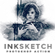 Inksketch   PS Action - GraphicRiver Item for Sale