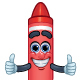 3 Cartoon Character Crayons - GraphicRiver Item for Sale