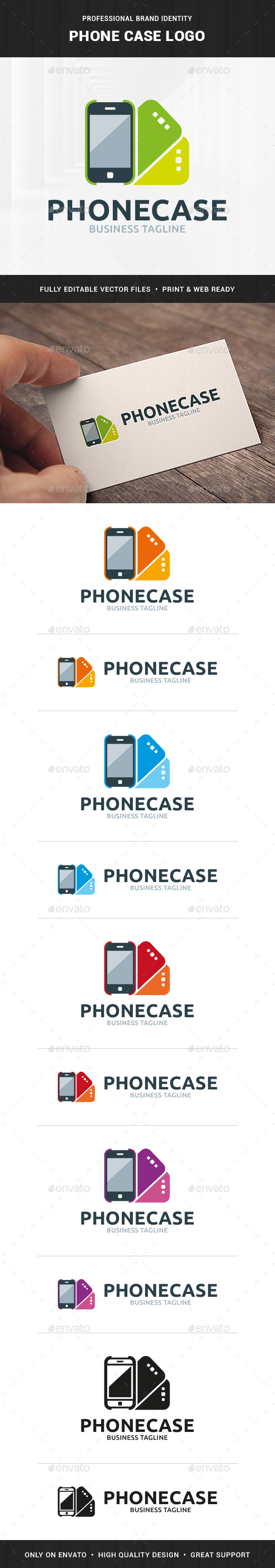 Phone Case Logo Template