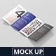 Roll-Fold Brochure Mockup - DL DIN Lang - GraphicRiver Item for Sale