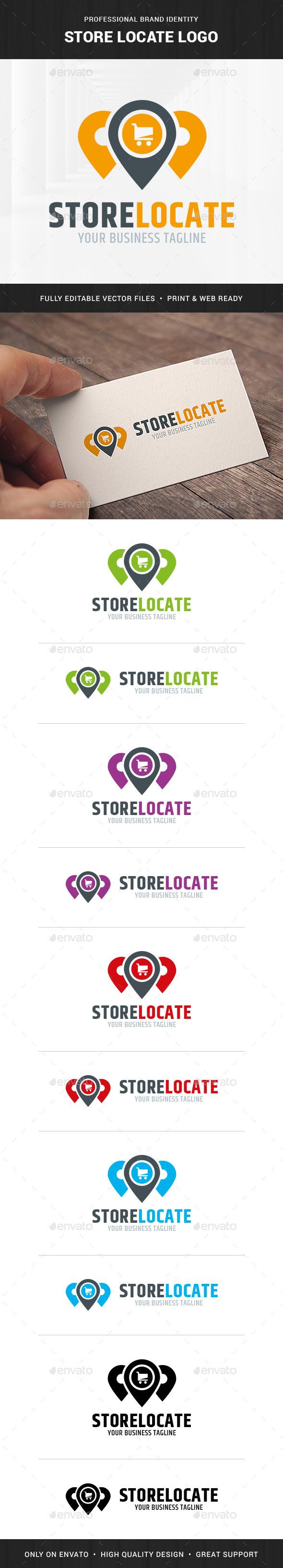 Store Locator Logo Template