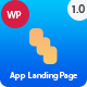 App Landing Page - App Landing WordPress - ThemeForest Item for Sale