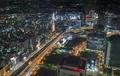 top view of Yokohama traffic at night - PhotoDune Item for Sale