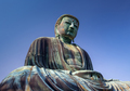 Giant Buddha statue under a blue sky - PhotoDune Item for Sale