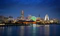 Yokohama skyline in the evening - PhotoDune Item for Sale