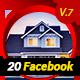 20 Multipurpose Facebook Timeline Covers V7 - AR - GraphicRiver Item for Sale
