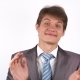 Clapping Sarcastically. Young Man Applauding - VideoHive Item for Sale