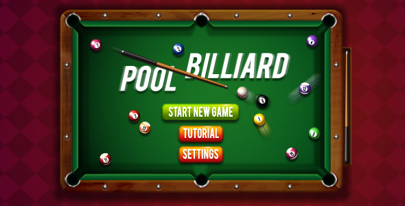 8 Ball Pool Billiards - HTML5 Sports Game Download
