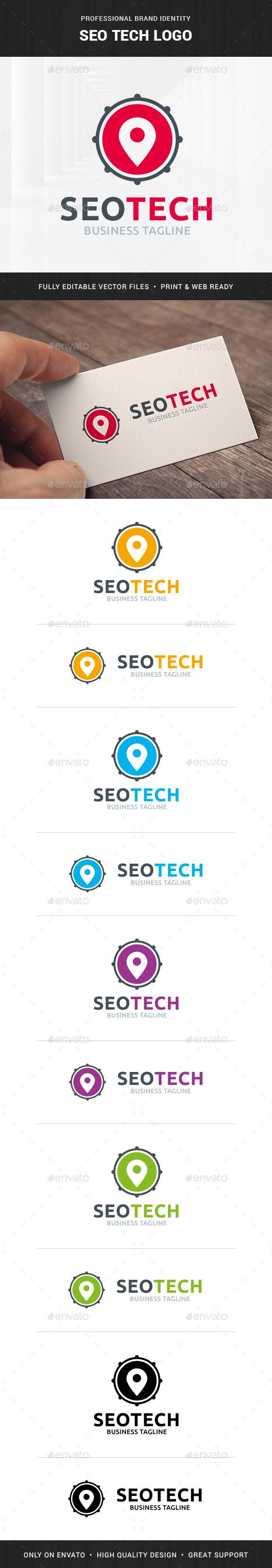 Seo Tech Logo Template