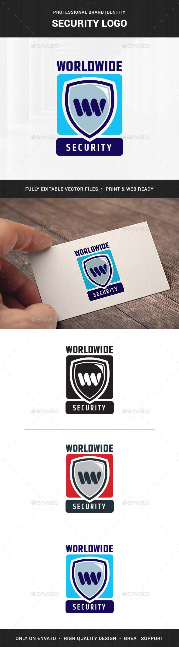 Security Logo Template