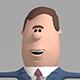 Cartoon businessman - 3DOcean Item for Sale