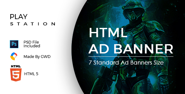 Gaming Ad Banners Download