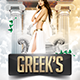 Greek's Toga Madness Flyer - GraphicRiver Item for Sale
