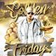 Golden Fridays Flyer - GraphicRiver Item for Sale