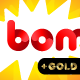 Bombo color font: Red and Gold - GraphicRiver Item for Sale
