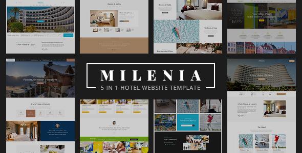 Milenia - Hotel & Resort Website Template