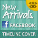 New Arrivals Facebook Timeline Covers - GraphicRiver Item for Sale