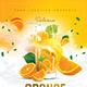Orange Cocktail Drink - GraphicRiver Item for Sale