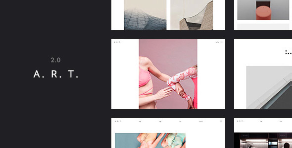 Art Simple WordPress for Artist