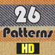Patterns & Textures - 26 Loops - VideoHive Item for Sale