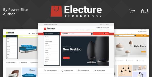Electure - Multipurpose OpenCart 3 Theme