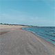 scandinavian beach drone flyover video - VideoHive Item for Sale