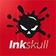 Inkskull Logo - GraphicRiver Item for Sale