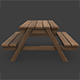 Picnic Table - 3DOcean Item for Sale