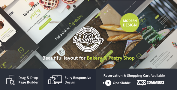 Cake & Bakery WordPress Theme