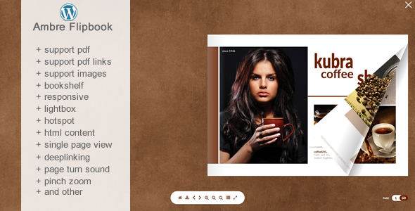 Photo of Flipbook WordPress Eklentisi Ambre Full Download