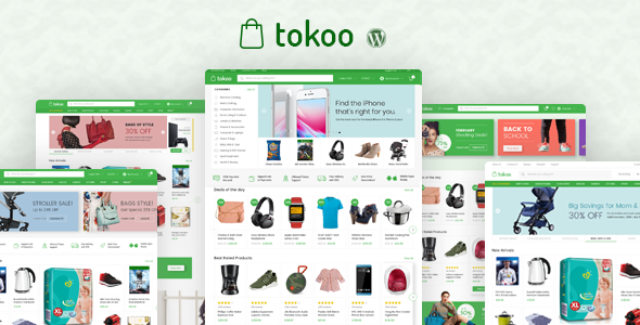 tokoo ücretsiz premium wordpress teması