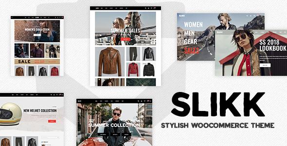 Slikk - A Stylish WooCommerce Theme