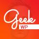 Geek - Personal Resume & Portfolio WordPress Theme - ThemeForest Item for Sale