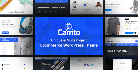Carrito - WooCommerce WordPress Theme