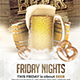 Beer Friday Nights - GraphicRiver Item for Sale