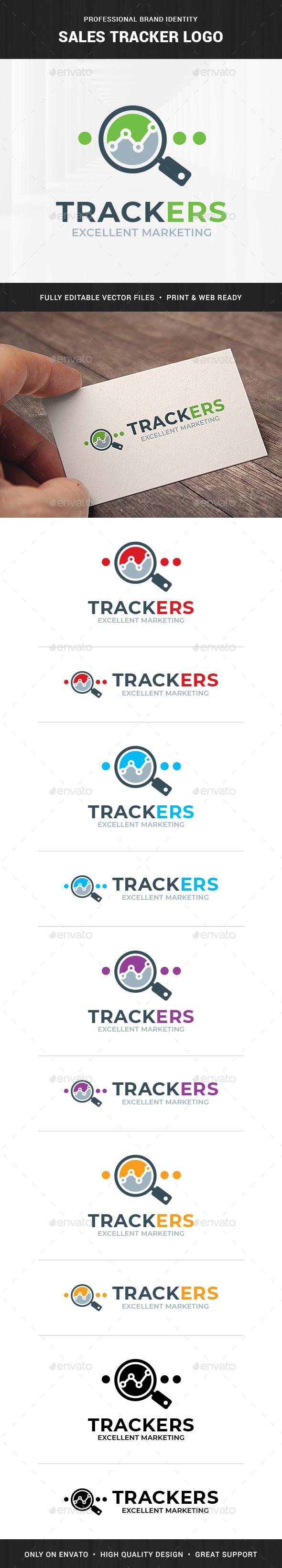 Sales Tracker Logo Template