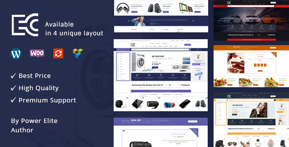 eCode - Multipurpose WooCommerce Theme