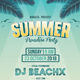 Summer Paradise Party Flyers - GraphicRiver Item for Sale