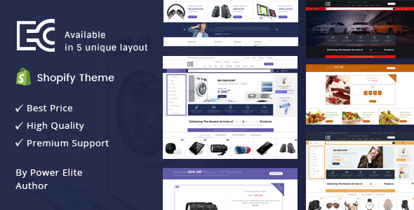 eCode - Sectioned Multipurpose Shopify Theme