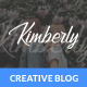 Kimberly - WordPress Blog & Shop Theme - ThemeForest Item for Sale
