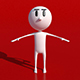 Simple Pictoral Stick Man Character - 3DOcean Item for Sale