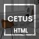 CETUS - Creative Portfolio HTML5 Template - ThemeForest Item for Sale