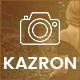 Kazron - Photography WordPress Theme - ThemeForest Item for Sale