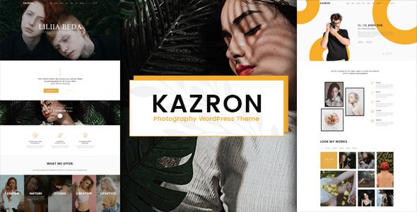 Kazron - Photography WordPress Theme