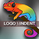 Minimal & Simple Glitch Logo