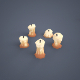 Candles (low poly) - 3DOcean Item for Sale