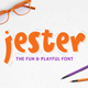 Jester Display Font - GraphicRiver Item for Sale