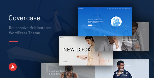 Covercase — Responsive Multipurpose WordPress Theme