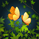 Two Flying Butterflies - GraphicRiver Item for Sale