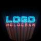 Hologram | Light Logo Reveal - VideoHive Item for Sale